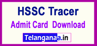 HSSC Tracer 2017 Admit Card Download