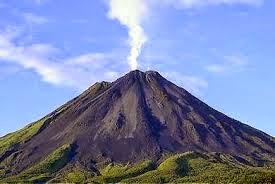 Gunung Popocatépetl, Meksiko tengah