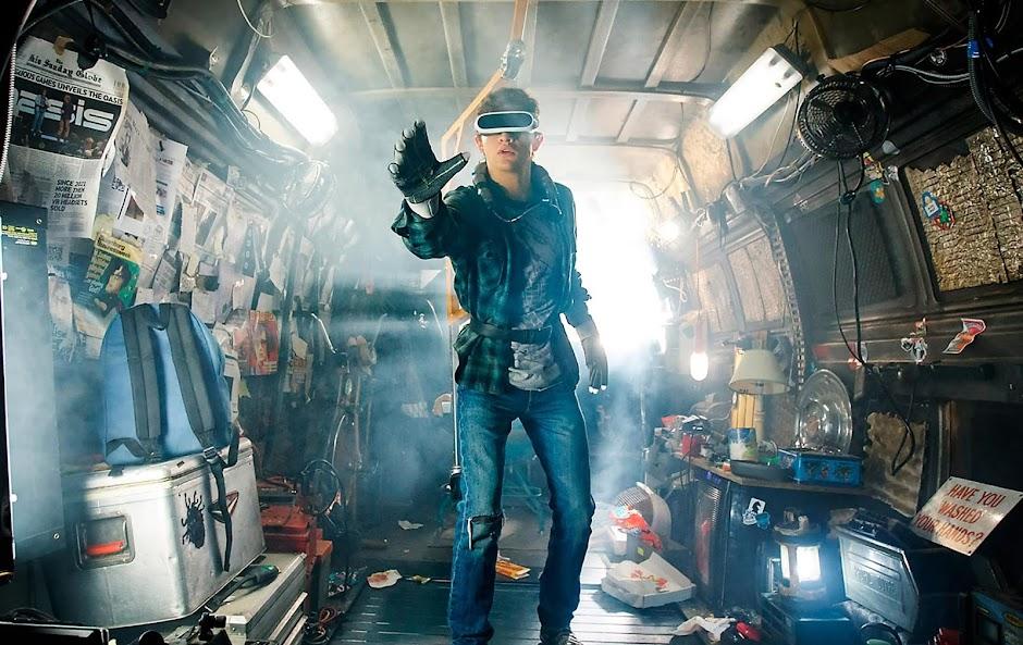 """Veja o futuro no vídeo inédito de """"Jogador Nº 1"""", de Steven Spielberg"""