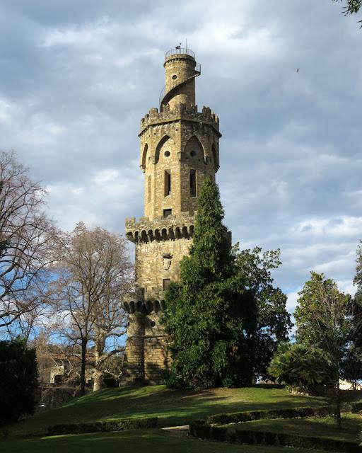 Torrino (Tower) by Gaetano Baccani, Giardino Torrigiani, Torrigiani Garden, Via dei Serragli, Via del Campuccio, Florence