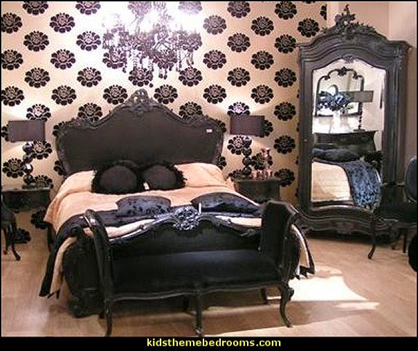 Moulin Rouge Victorian Boudoir style bedroom decorating ideas - Moulin Rouge style bedroom ideas - boudoir themed decor - Moulin Rouge decor ideas -  French boudoir themed bedrooms - sexy themed bedroom decorating ideas - boudoir furniture