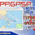 PAGASA Weather Update for Typhoon OMPONG as of 4:00 PM 13 September 2018.