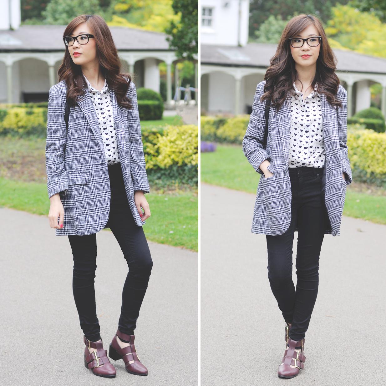 new look grey coat, how to wear grey coat