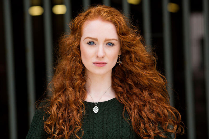 30 Stunning Pictures From All Over The World That Prove The Unique Beauty Of Redheads - Elias In Belfast, Northern Ireland