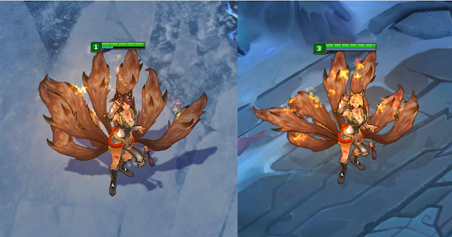 Mod Skin Ahri Demacia Light