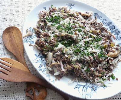 Barley, Wild Rice, & Mushroom Pilaf