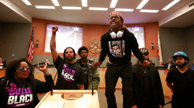 Tensions high as city mourns unarmed man killed by police