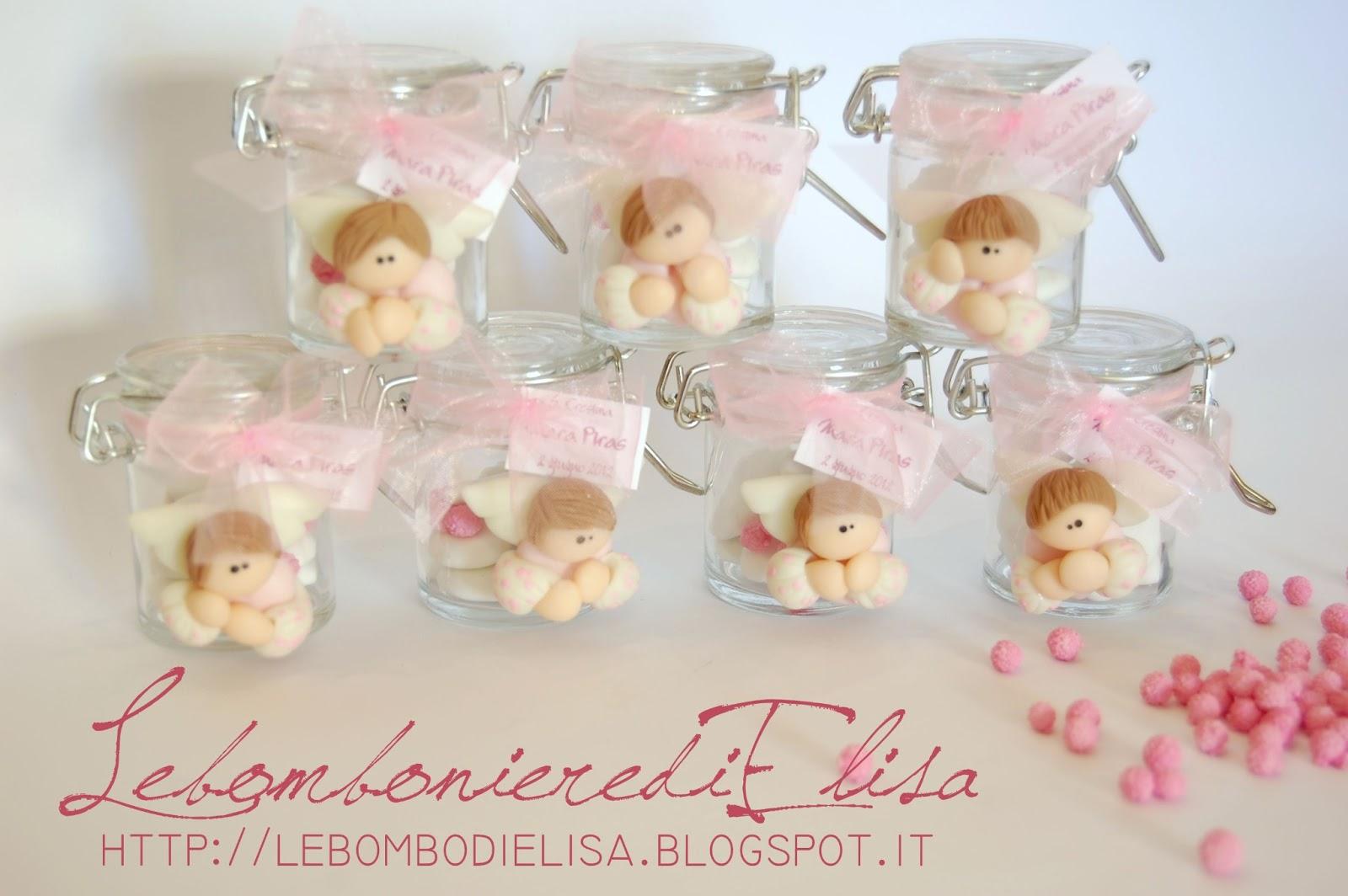 Super LebombonierediElisa: Vasetti in vetro con confetti.. una  KQ61