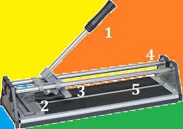 Tile cutter : Cara membelah keramik dengan menggunakan alat tile cutter
