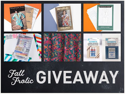 Craftsy Fall Frolic Giveaway
