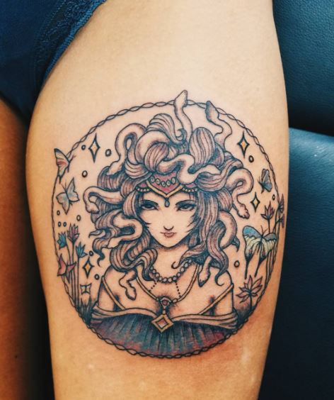 50 greek tattoos inspired from ancient mythology 2018 tattoosboygirl. Black Bedroom Furniture Sets. Home Design Ideas