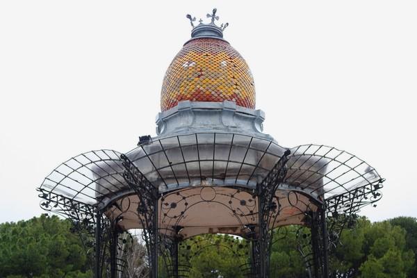 espagne saragosse art nouveau modernisme kiosque parc labordeta