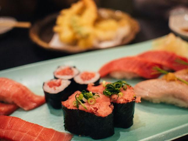 Tuna Sushi Sushi zanmai