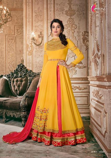 Kesari Trendz kaia vol 9 Indo western Gown Wedding collection