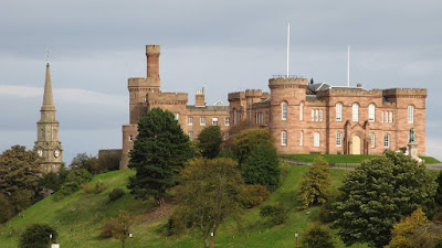 Inverness Castle - Picture by Home Farm B&B in Muir of Ord