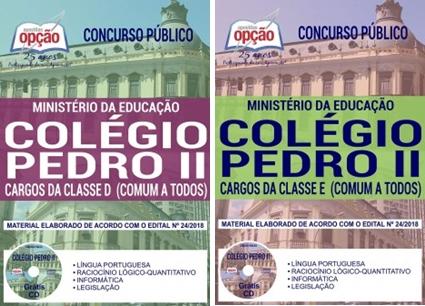 Apostila Colégio Pedro II 2018 Técnico Administrativo em Educação