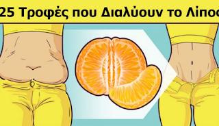 25 τροφές – λιποδιαλύτες, που μπορείτε να τρώτε όσο θέλετε και να καίτε λίπος