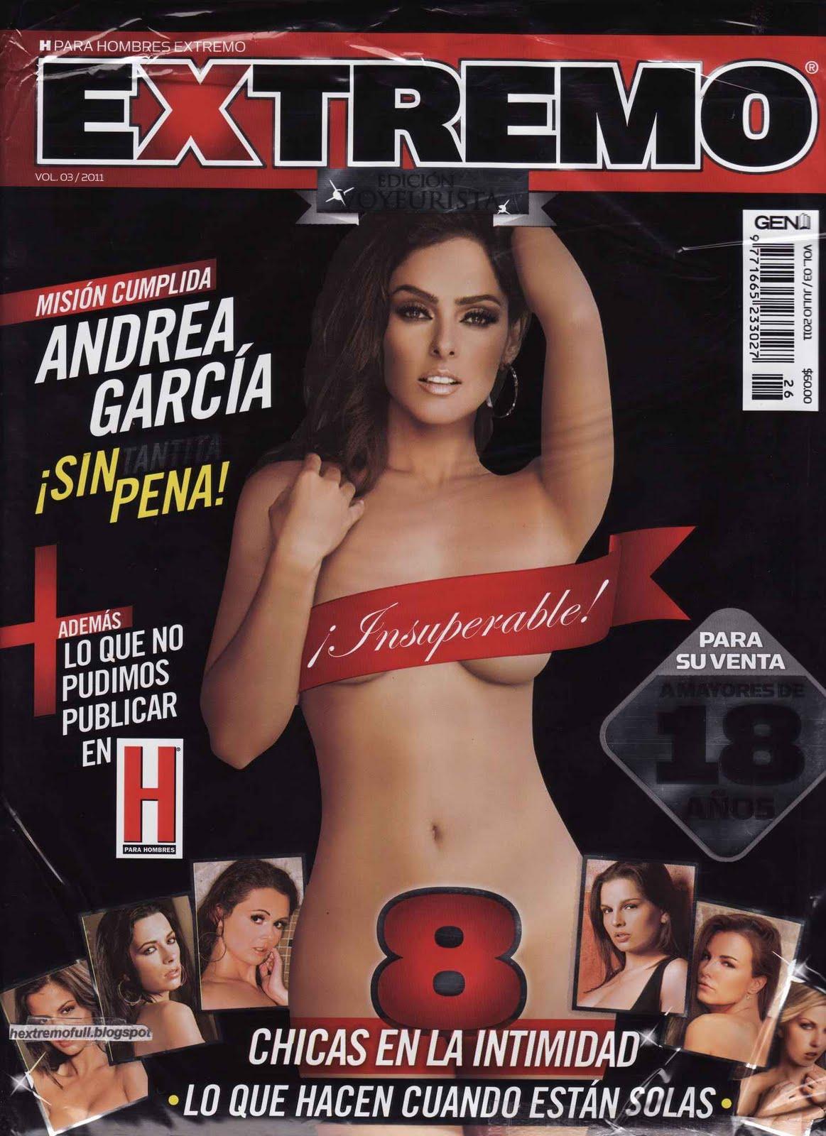 Amanda Rosa Desnuda En H Extremo andrea garcia revista h extremo julio 2011 pdf