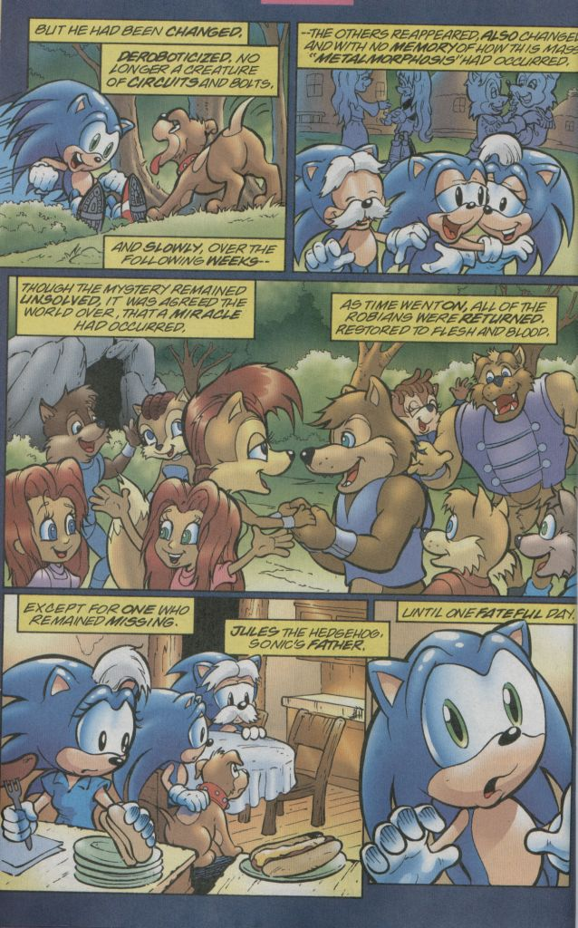 Read online Sonic The Hedgehog comic -  Issue #123 - 21
