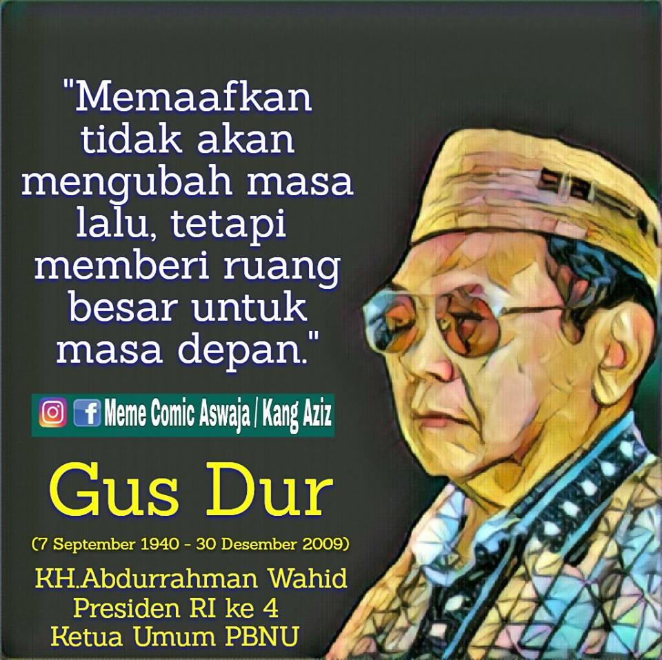 Kata Mutiara Gus Dur Quotemutiara
