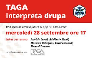 """Tour """"TAGA interpreta drupa"""" - GENOVA"""