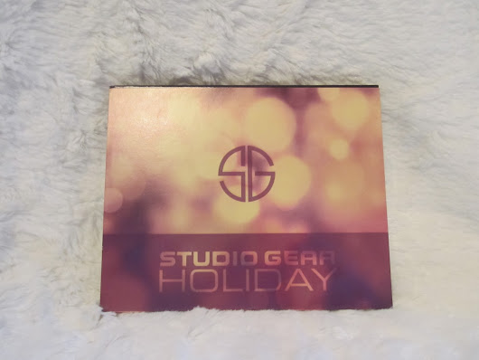 Studio Gear Cosmetics Holiday Smokey Eye Palette Review