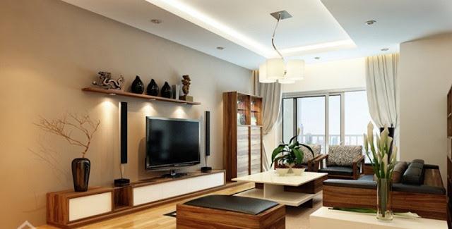 Thiết kế phòng khách chung cư Booyoung Vina