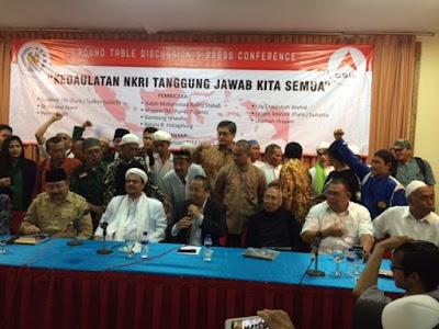 Jenderal (Purn) Tyasno dan Habib Rizieq Deklarasikan Majelis Kedaulatan NKRI