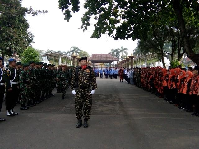 Keren! Banser Pimpin Upacara Hari Sumpah Pemuda yang Dihadiri TNI dan Polri