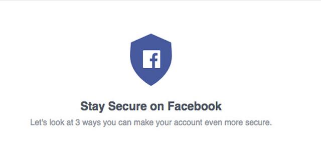 أداة جديدة من الفيس بوك لفحص امان حسابك Start security checkup
