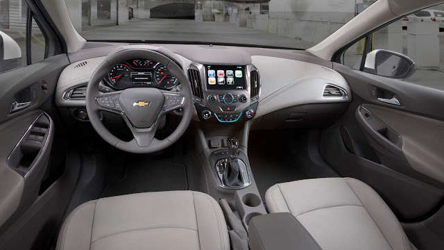 Novo Chevrolet Cruze 2017 - interior - painel