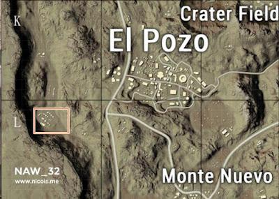Barat daya El Pozo