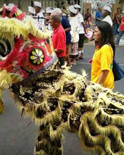 Barongsay Dalam Kirab Budaya Klenteng Eng An Kiong, Malang 2018