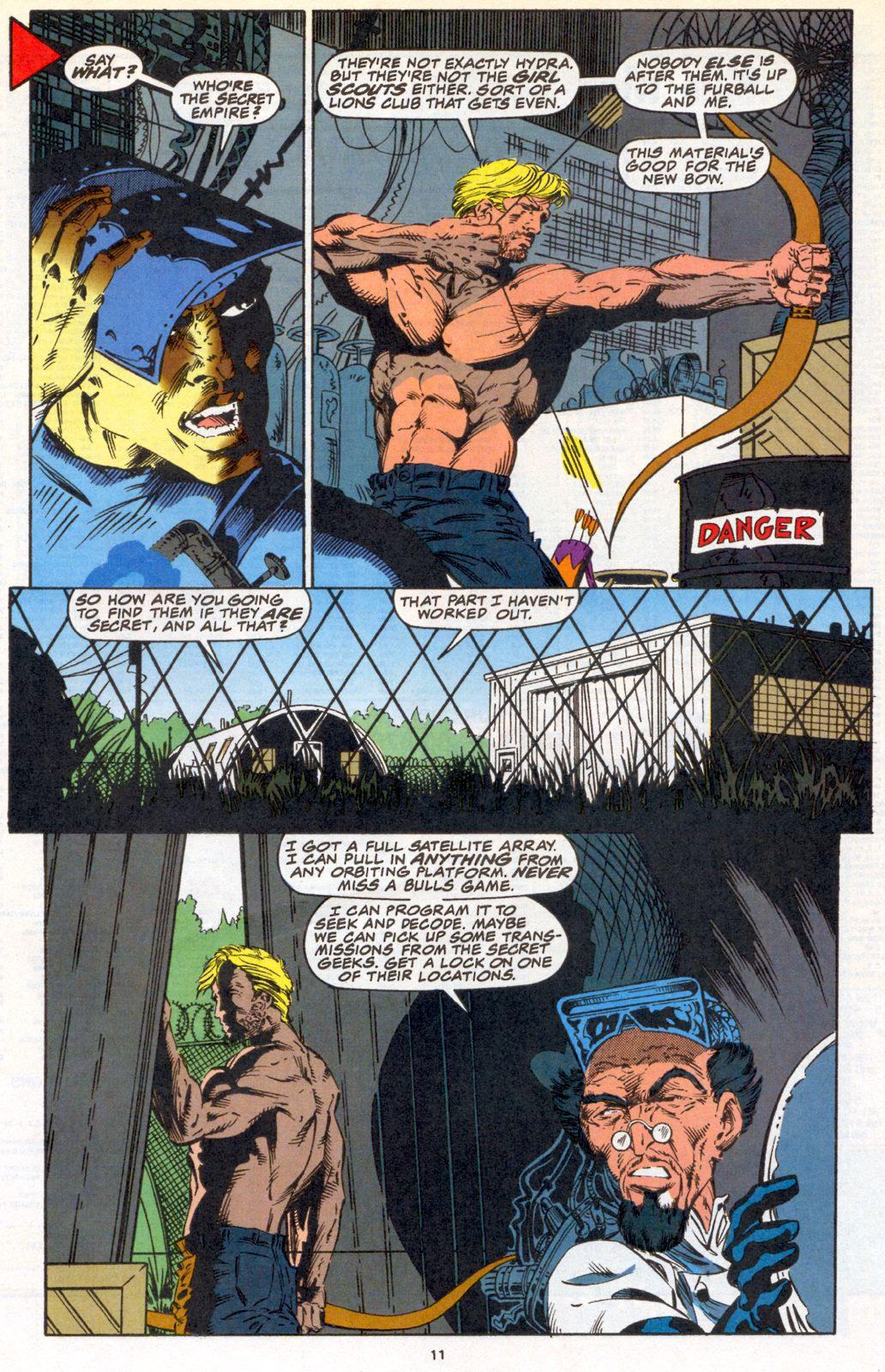 Hawkeye (1994) Issue #3 #3 - English 8