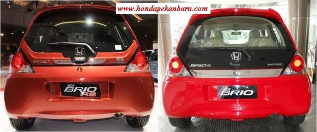 Perbedaan Belakang Honda Brio Facelift Pekanbaru Riau 2017