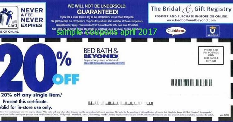 Bed Bath And Beyond Discount Sign Up