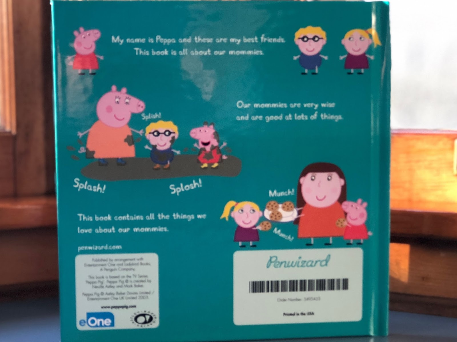8600023ebe42d All in all, I think this book is really cute and my niece will love it.  There could be a few more customization options (like changing 'Mommy' to  'Mummy' or ...