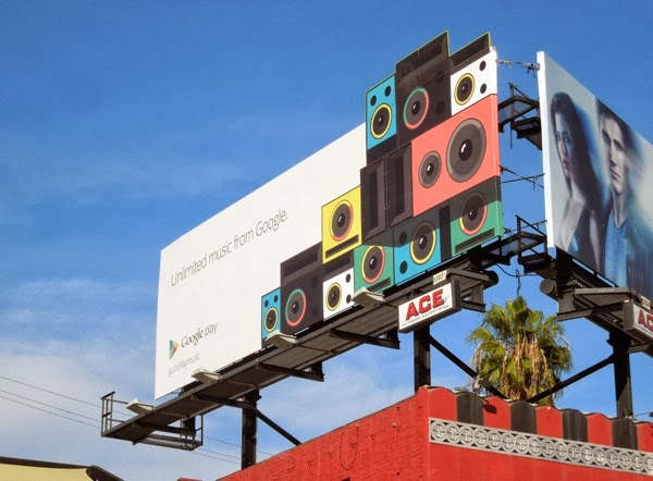 Google Play Unlimited music billboard