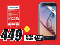 Sottocosto Mediaworld, Samsung Galaxy S6
