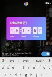 cara menambahkan stiker countdown pada story Instagram-gambar 3