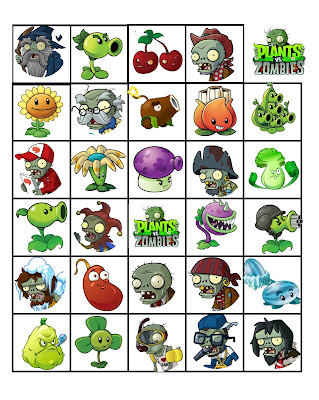 Plants vs. Zombies party activities