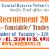 CISF Recruitment 2018 for 487 Various Vacancies @davp.nic.in