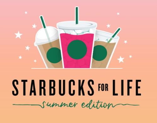 Starbucks for Life Summer Edition Contest
