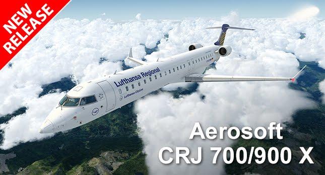 Download Aerosoft CRJ 700/900 X Latest Version #FSX #P3D #FIX