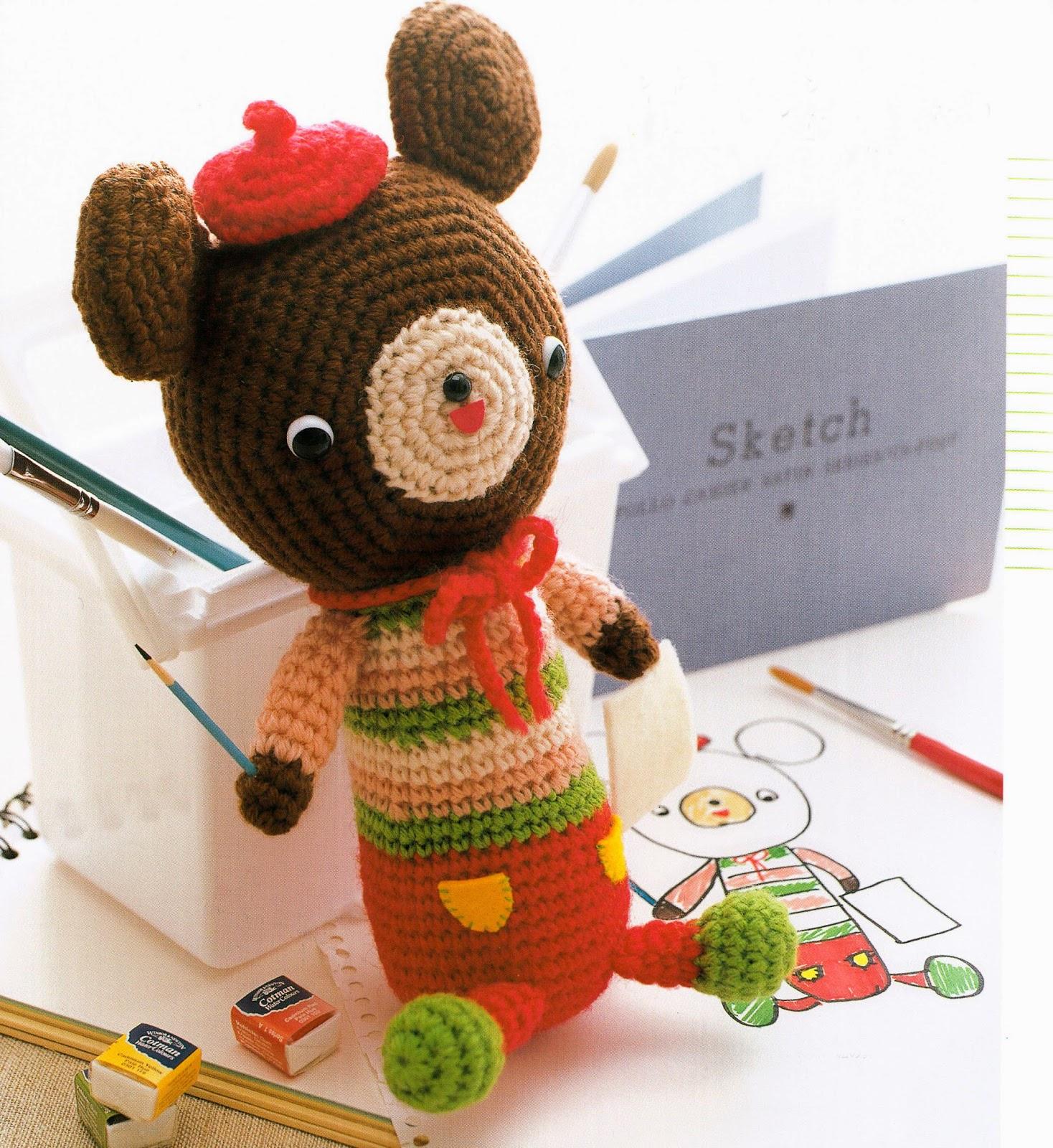 JAPANESE CROCHET AMIGURUMI PatternAmigurumi Crochet Mascot | Etsy | 1600x1468