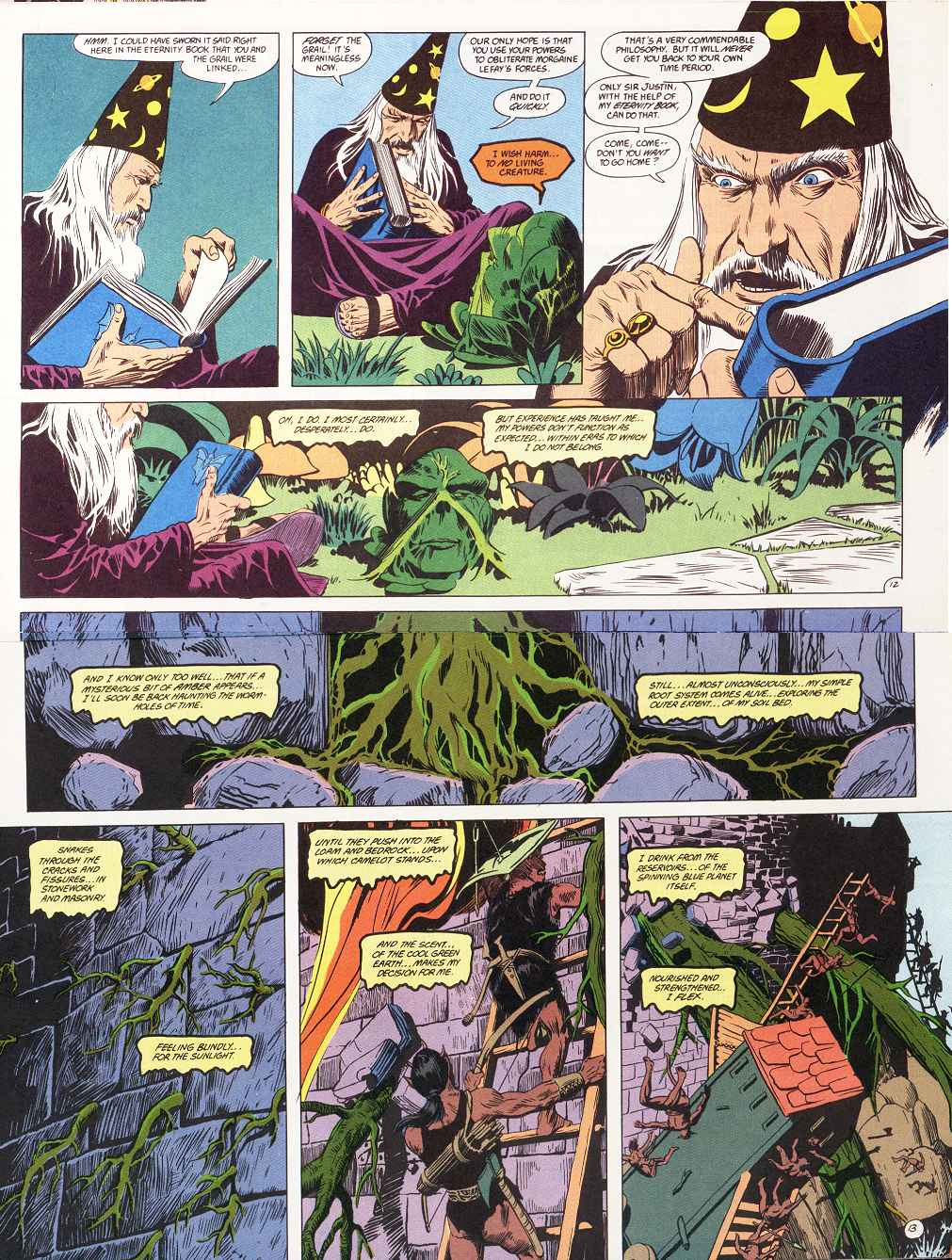 Swamp Thing (1982) Issue #87 #95 - English 8