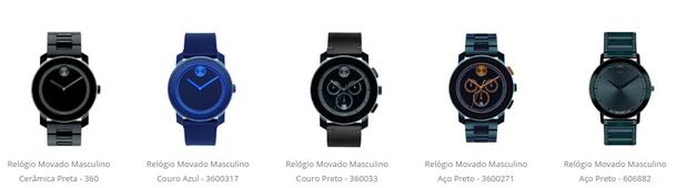 01c0cdbc2 Eu estou apaixonado por todos os modelos dos relógios Movado que estão  disponíveis na loja virtual da Vivara.