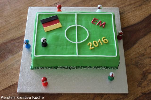 Kerstins Kreative Kuche Fussball Torte