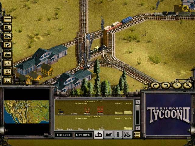 juegos pc estrategia: Nostalgia: Railroad Tycoon II