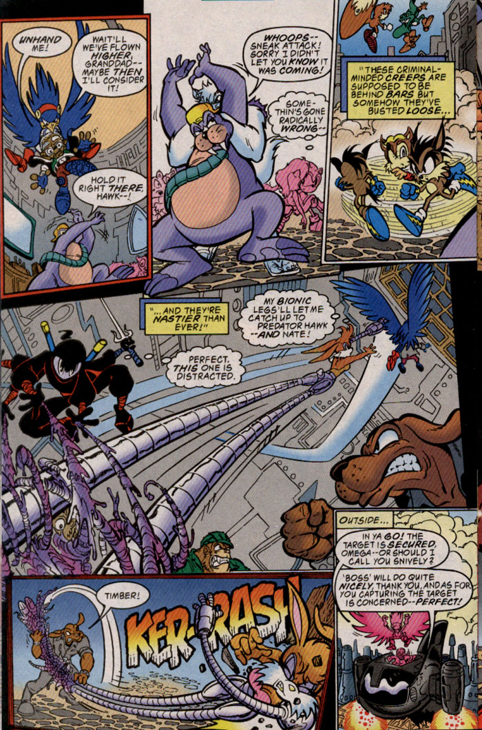 Read online Sonic The Hedgehog comic -  Issue #69 - 15